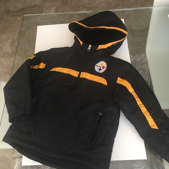 the latest 1bdc7 63bd8 Pittsburgh Steelers Winter Jacket